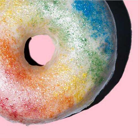Dough Joy Over the Rainbow Donut