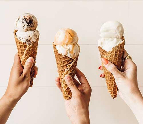 Frankie & Jo's Vegan Ice Cream Cones