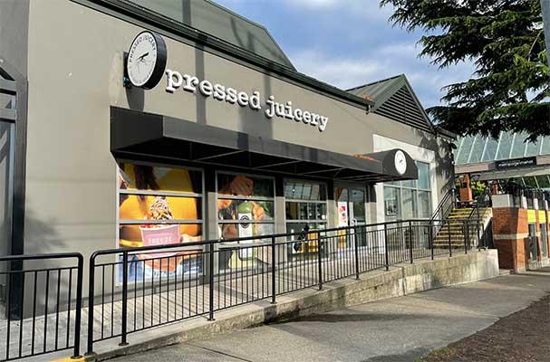 Pressed Juicery Storefront