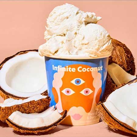 Razzi's Coconut Ice Cream