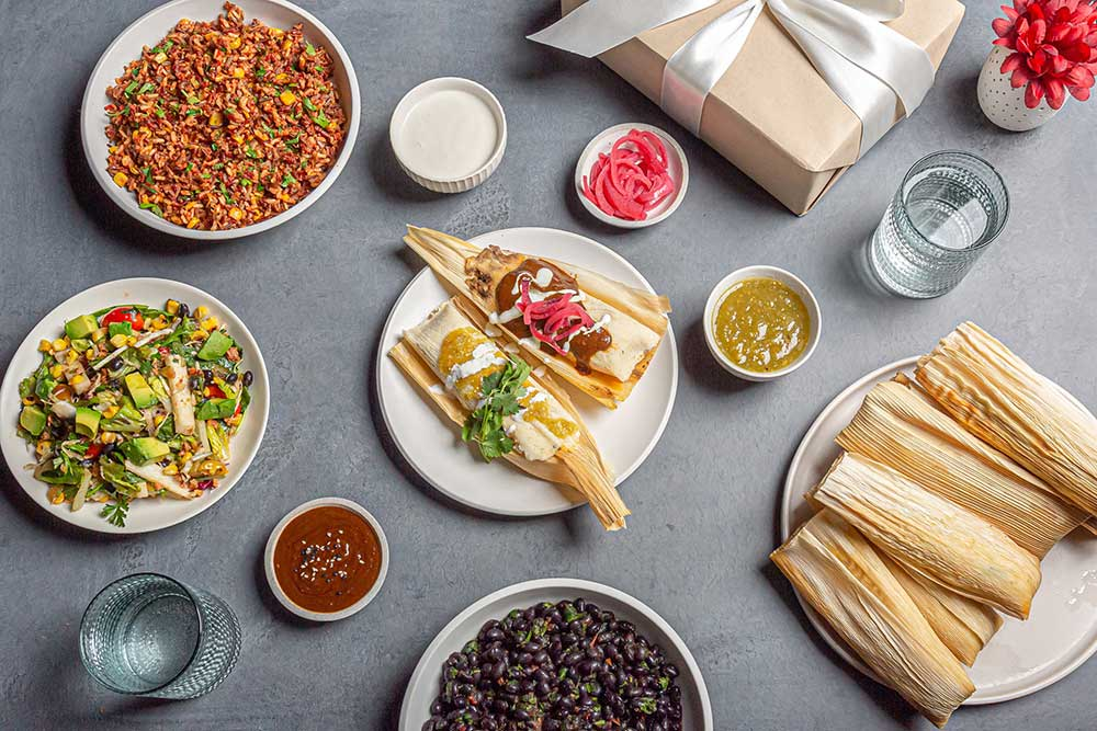 Veggie Grill Holiday Tamales Kit